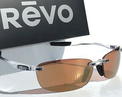 NEW Revo Descend E Blush Champagne 4060-10 CH Polarized