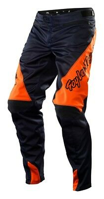 Troy Lee Designs 2015 Youth Sprint Bike Pants Navy/Orange Youth Size 24-28