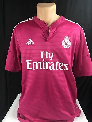 f0827a00d Real Madrid Away 2014-2015 Football Shirt Jersey Soccer Spain Gareth Bale  UCL 11
