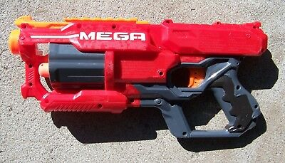 Nerf N-Strike Elite Mega Cycloneshock Blaster Gun Hasbro 2013 1 Dart Works Great