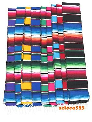 """Mexican Sarape 72"""" x 7"""" Table Runner Scarf"""