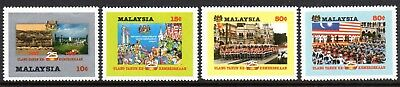 1982 MALAYSIA 25th ANNIVERSARY OF INDEPENDENCE SG242-245 mint unhinged