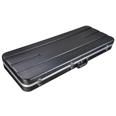 """Portable 39"""" Universal Electric Guitar Case Lockable ABS Hardshell Carrying Box"""