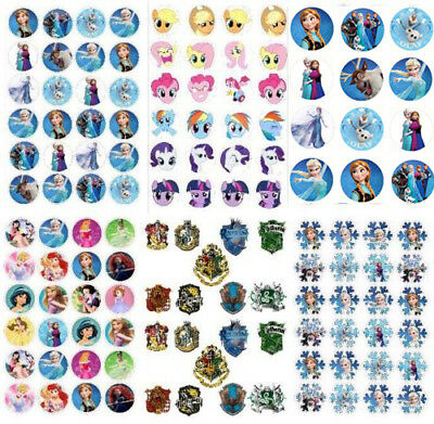 Frozen Pikachu Princess pony Harry potter sonic mario stickers decal party gift