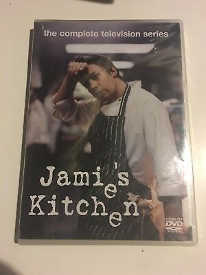 Jamie's Kitchen The Complete Television Series (DVD, 2005)   (Jamie Oliver)  NEW