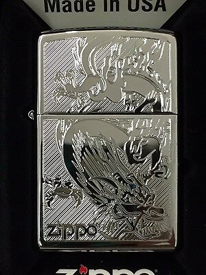 Zippo Dragon High Polished Chrome 250-38899