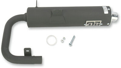 DG Performance Sport RCM II Slip-On ATV Exhaust Yamaha Rhino 450 Black 051-4200