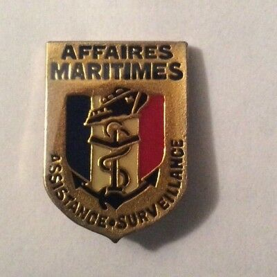 Pin's Affaires Maritimes Assistance / Surveillance