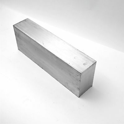 "3"" x 6"" Aluminum 6061 FLAT BAR 16"" Long new mill stock sku K130"
