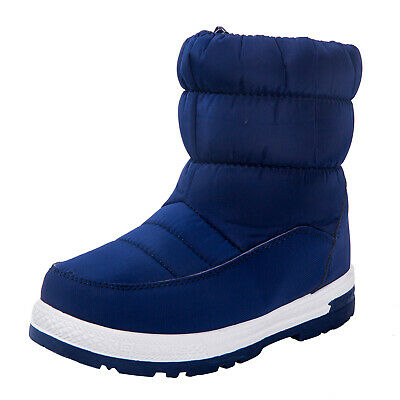 Boys Girls Winter Snow Boots Waterproof Slip Resistant Boots Cold Weather Shoes