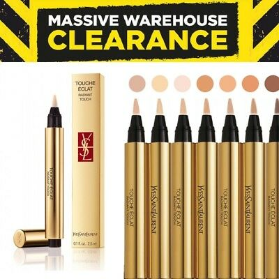 YSL Yves Saint Laurent Touche Éclat Radiant Highlighting Concealer Various Shade