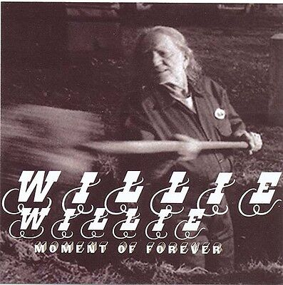 Willie Nelson Moment Of Forever + Songbird RARE promo stickers