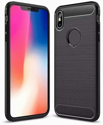 Apple iPhone 8 7 6 6S Plus X XR 11 Pro XS Max Silicone Case Shockproof Cover