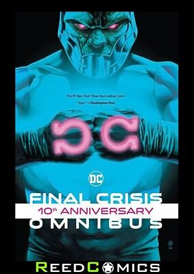 FINAL CRISIS 10TH ANNIVERSARY OMNIBUS HARDCOVER (1512 Pages) New Hardback
