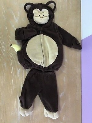 Old Navy Monkey Halloween Costume Infant Size 6-12 Months
