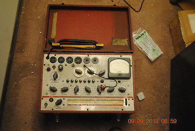 Hickok Model 600 Tube Tester in Good Condition Untested