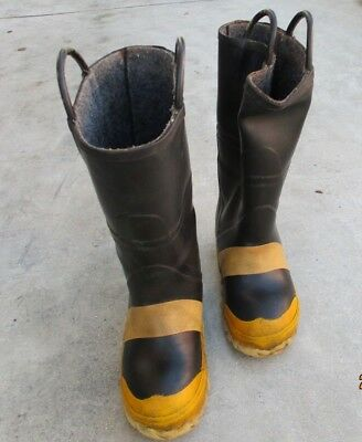 THOROGOOD Firefighter Steel Toe Mid-sole Boots