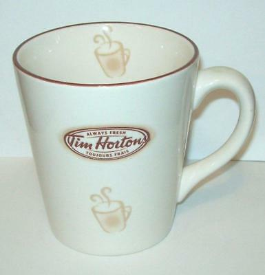 Tim Hortons Coffee Mug Limited Edition Steaming Drinking Cup 2007