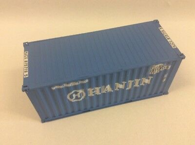 Hanjin 20 Ft Container 1:45 aus Messing