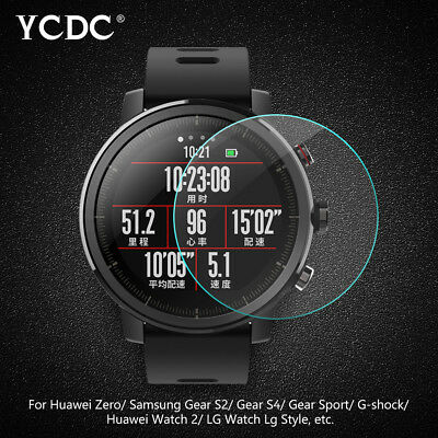 Universal Smart Watch Screen Protector Tempered Glass2.5D 0.3mm 99.9%HD 23-46mm