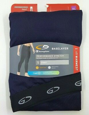 C9 Champion Women's Navy Warmest Baselayer Performance Stretch Pant - XL - NWT