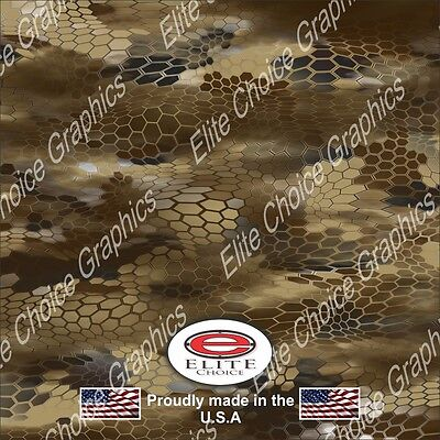 "Hex Light Desert CAMO DECAL 3M WRAP VINYL 52/""x15/"" TRUCK PRINT REAL CAMOUFLAGE"