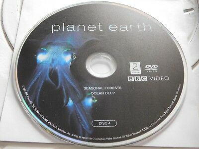 Planet Earth Disc 4 Replacement DVD Disc Only 70-38