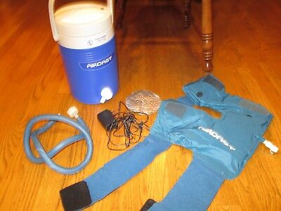 Aircast Cryo Cuff MOTORIZED Cooler Cold Therapy Unit LARGE Knee Pad Electric
