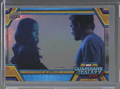 2017 Upper Deck Guardians of the Galaxy Volume 2 Rainbow Foil Super Cool Dad 0ad