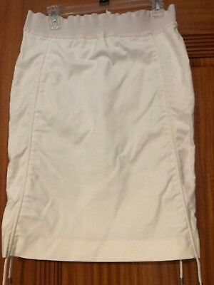 6e257856e GF FERRE WHITE Skirt Size 42 Made In Italy Sold As Is - $12.00 ...