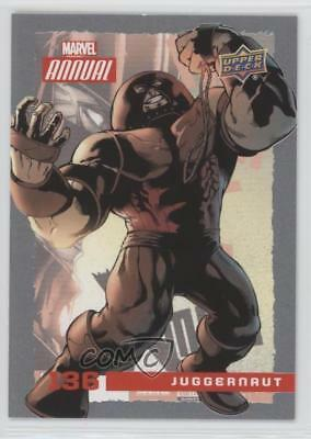 2016 Upper Deck Marvel Annual #136 SP Juggernaut Non-Sports Card 0br