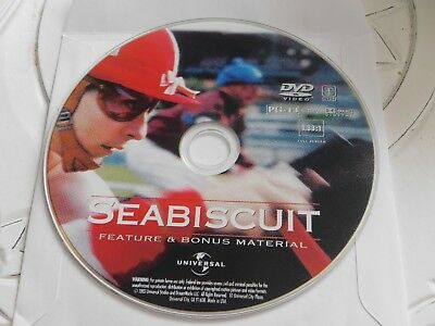 Seabiscuit (DVD, 2003)Full Screen Disc Only 70-101