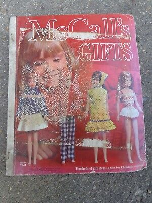 Vintage 1960s McCalls Sewing Pattern Catalog Counter Store Pattern Book No. 7841