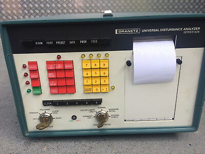Dranetz 626 Universal Disturbance Analyzer