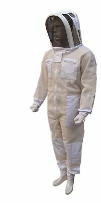 Bee 3 Layer beekeeping beekeeper full suit ventilated jacket Astronaut veil