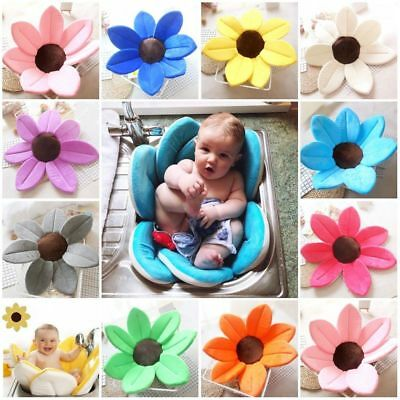 Baby Blooming Bath For Infant Flower Lotus Petals Babies Washcloths Flower LJH