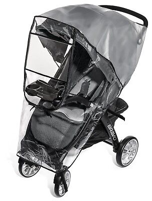 Premium Stroller Cover Weather Shield, Easy In/Out Zipper, Universal Size, Water