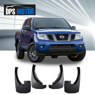 Front Rear 4PC OE Style Splash Mud Guards Flaps For 2005-2016 Nissan Frontier