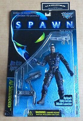 "McFARLANE TOYS  SPAWN THE MOVIE  ""AL SIMMONS""  ACTION FIGURE NEW/UNOPENED"
