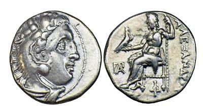 Kings of Macedon: Alexander III (The Great) silver drachm Magnesia ad Maeandrum