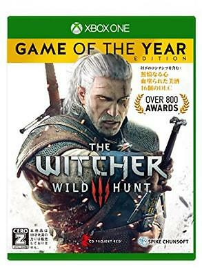 Witcher 3 Wild Hunt Game of the Year Edition Xbox One Japan NEW