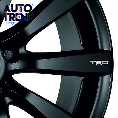 4 X TOYOTA TRD MIRROR  Decal Sticker Detail-Best Quality-Many Colours