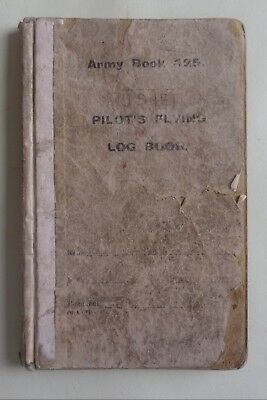 RFC.  Pilot's Log Book. 11 Squadron. Western Front. Royal Flying Corps. RAF