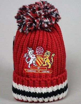 Rosso Bianco Nero RBN 1878 Limited Edition Bobble Hat Jimmy Murphy Man Utd  Adult f541cd08ad6