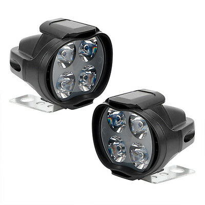 Motorcycle Headlight Spot  Lights Head Lamp LED Front DC12V Driving Easy to Use