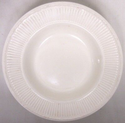 Wedgwood Edme Queens Ware Cream Colored Round Rimmed Cerial Soup Bowl 8 1/4""