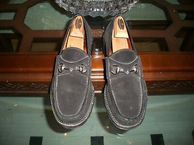 1dfcfb4cc78 USED GUCCI BLACK suede leather
