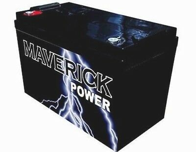 135A Power Battery Agm Sla 12 Volt 12V Deep Cycle Caravan Boat Fridge Solar 130A