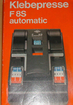 AGFA F8S SUPER-8mm AUTOMATIC TAPE FILM SPLICER EXC. WITH INSTRUCTIONS