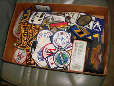 OVER 150 new old stock HAT/CAP,COAT,SHIRT patches